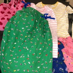 Lot of 4 - 3 Dresses and 1 Fleece.